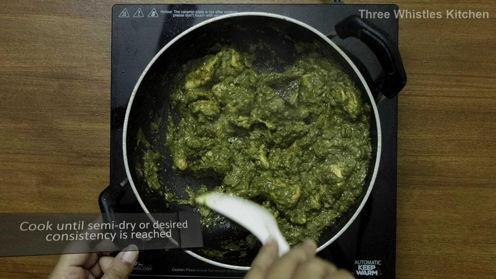 Hariyali Chicken fry