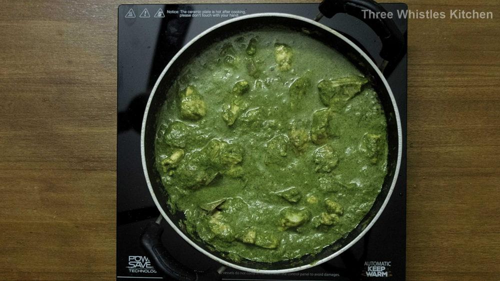 Hariyali Chicken masala paste