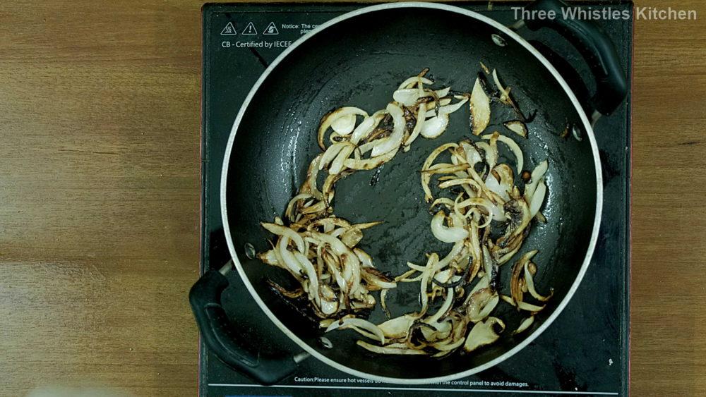jeera rice fry onions