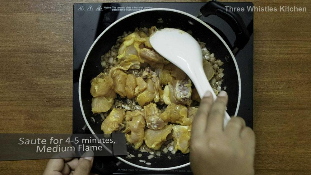 Hariyali Chicken pieces