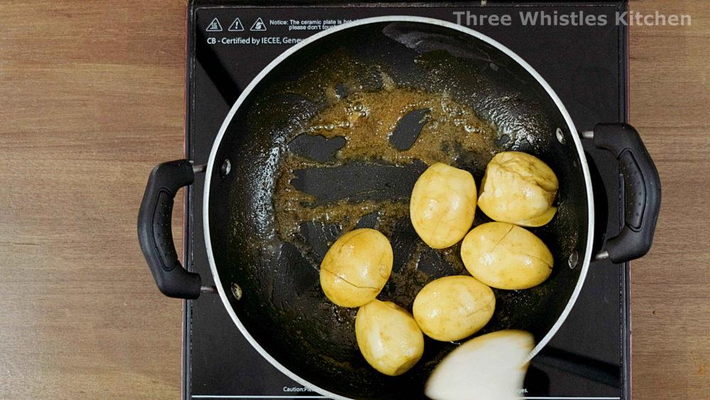 egg masala fry eggs