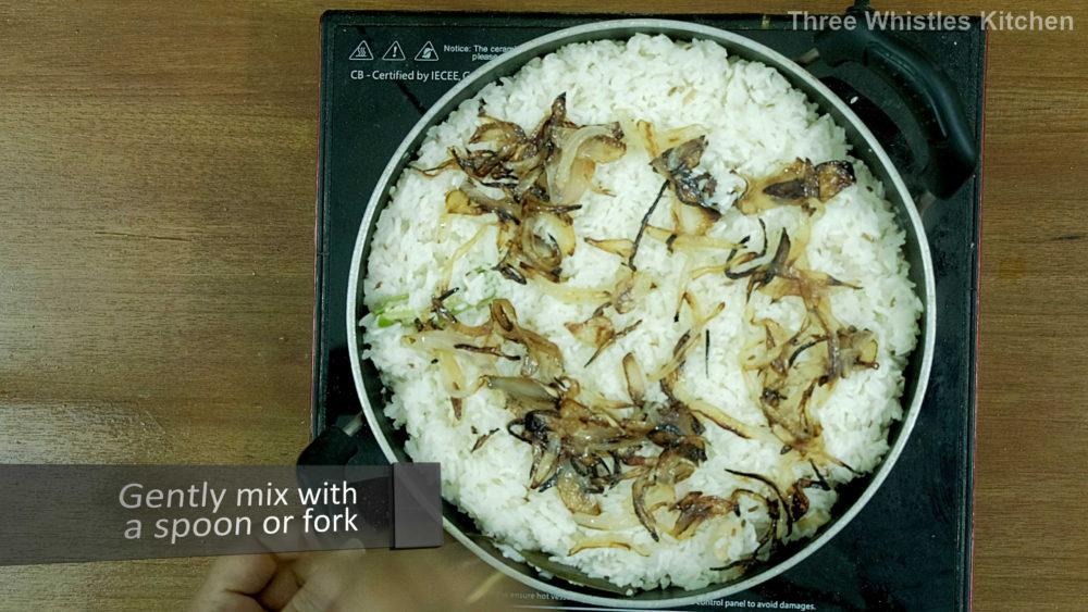 jeera rice onions