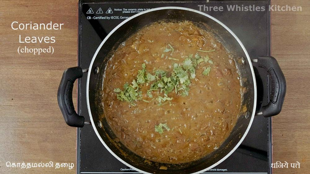 egg masala garnish