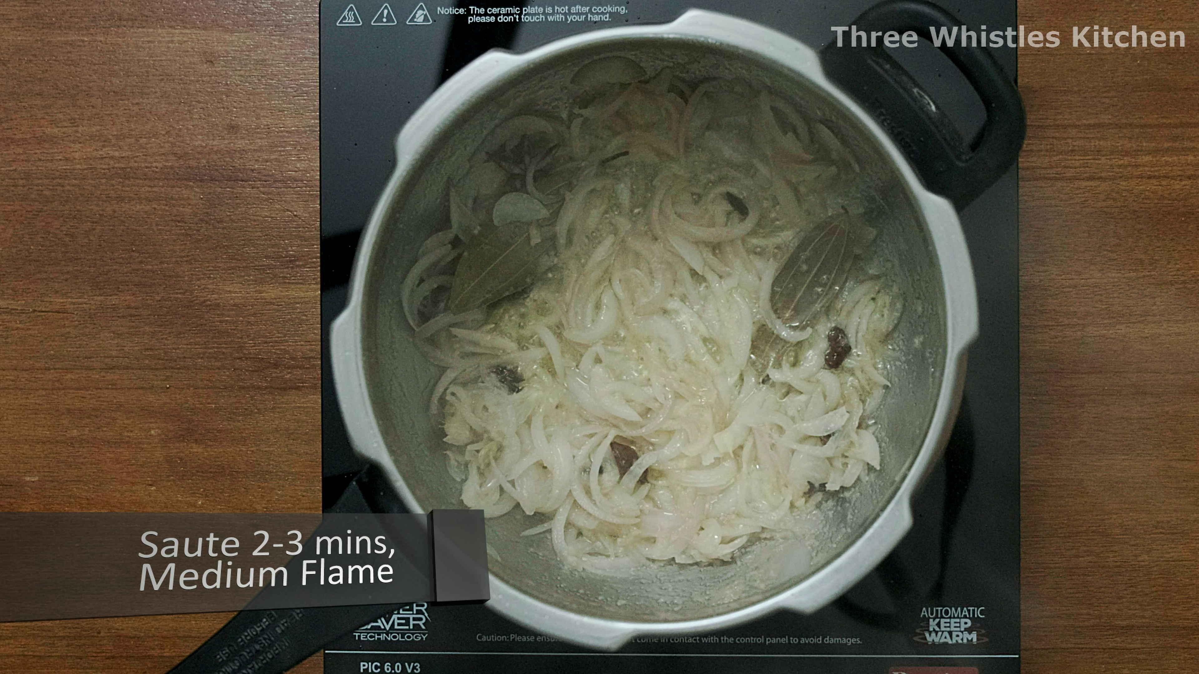 mutton biryani onions fry