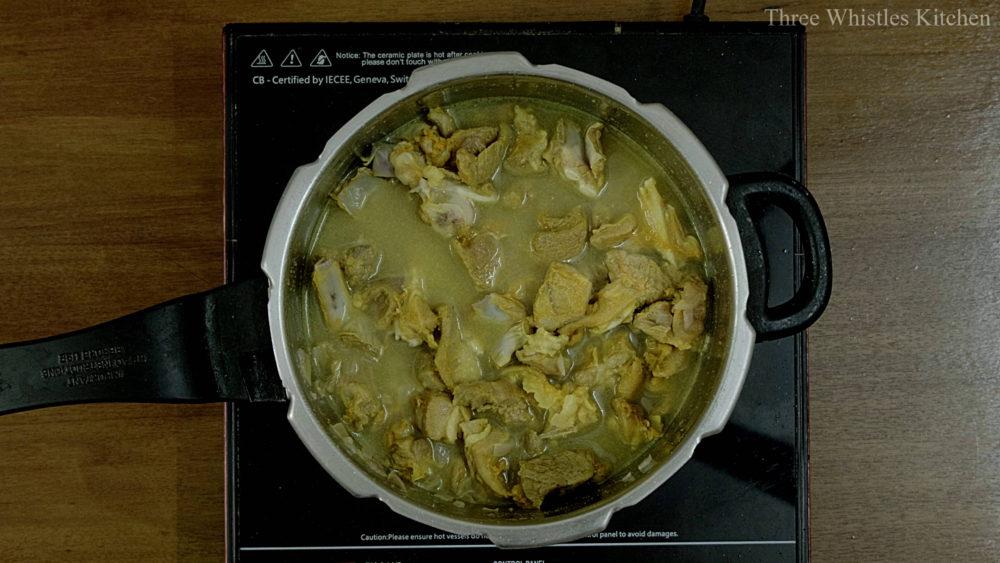 mutton ghee roast water