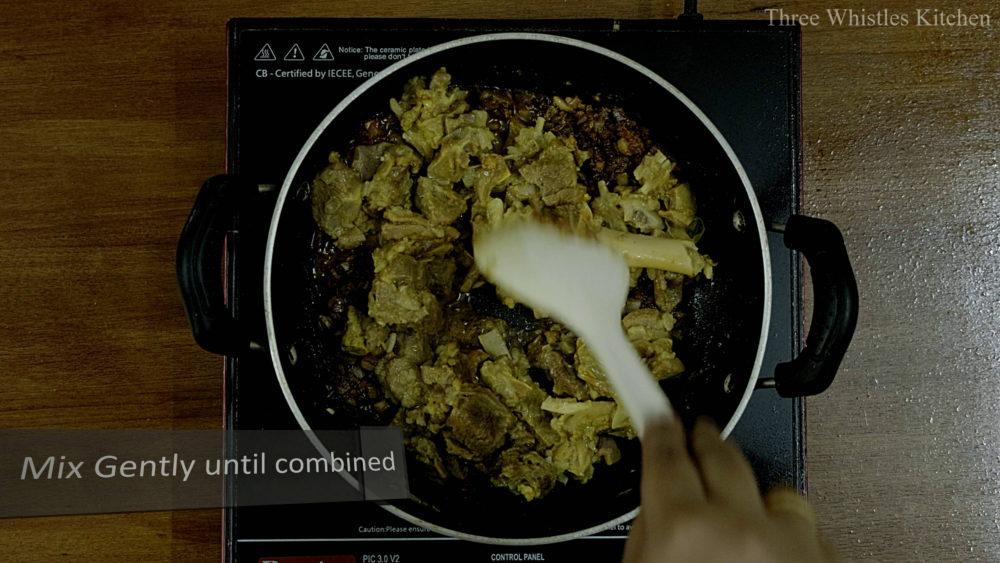 mutton ghee roast add
