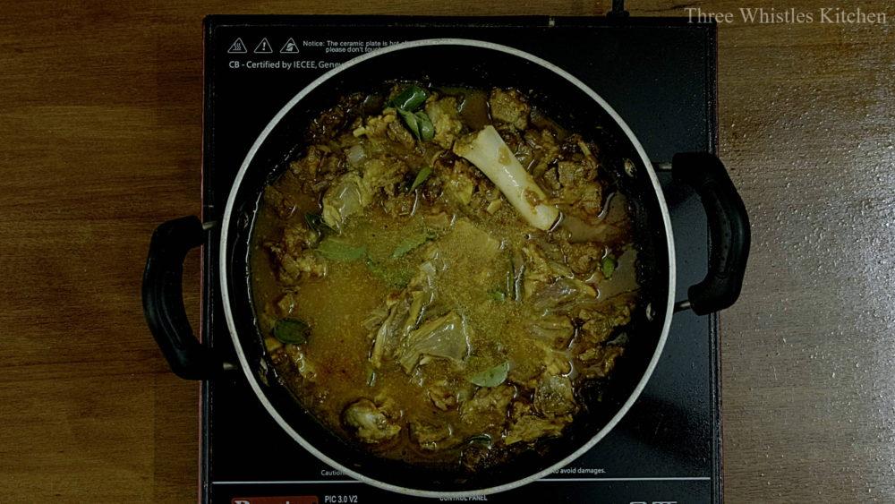 mutton ghee roast cook
