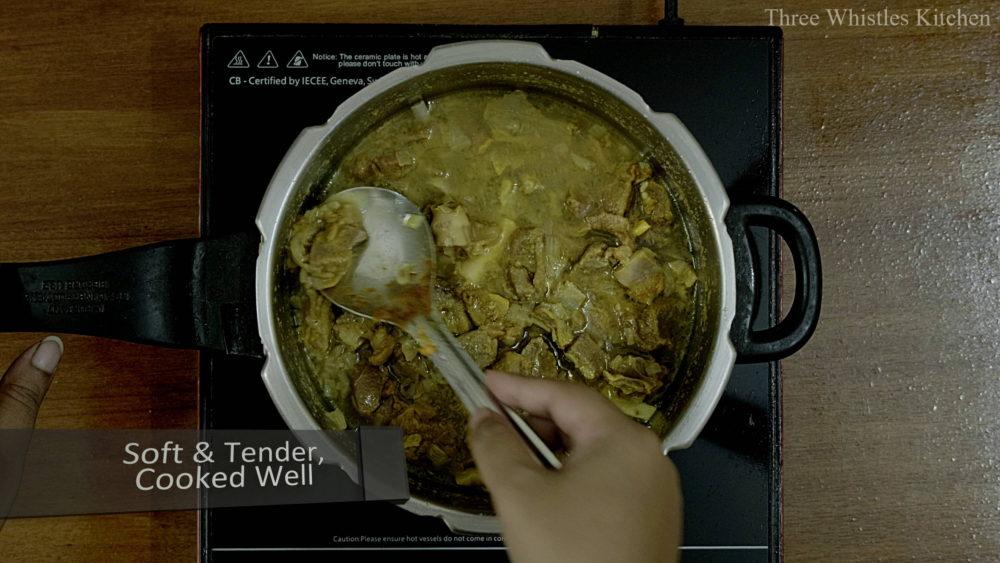mutton ghee roast boiled