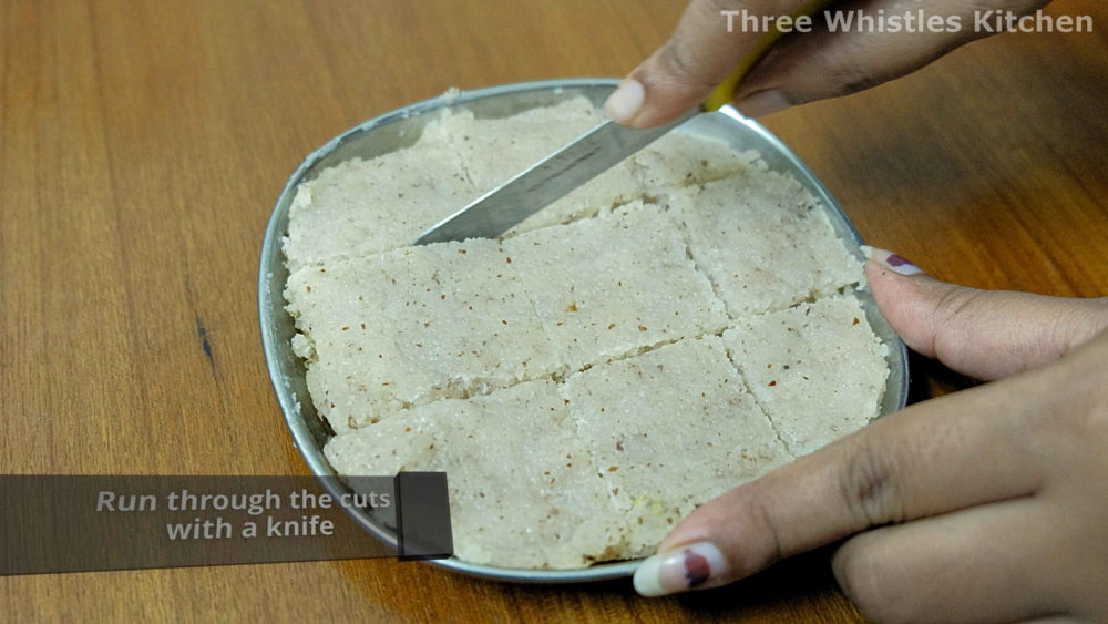 coconut barfi knife