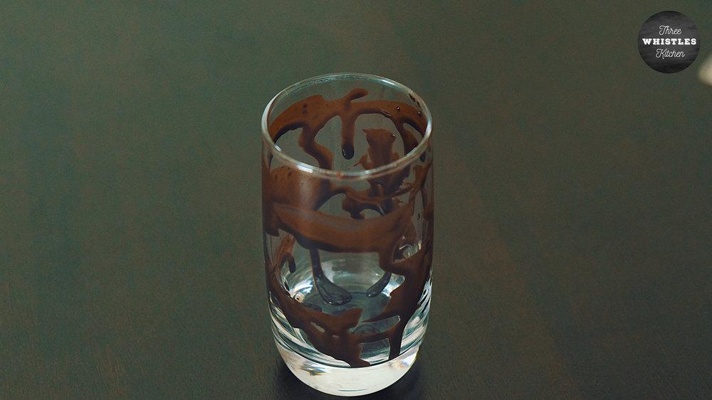 chocolate lasi syrup dip