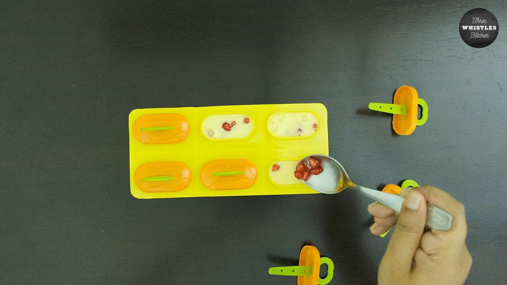 custard fruits