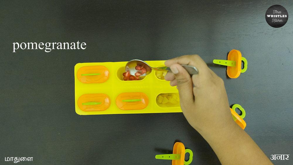 custard pomegranate