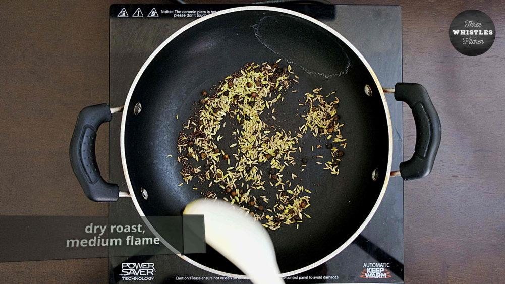 kulambu podi dry roast