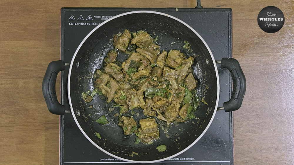 mutton chukka varuval ready