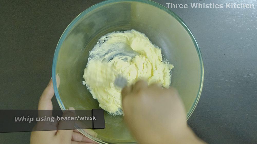 beat butter