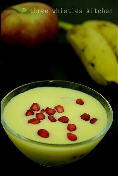 fruit custard images