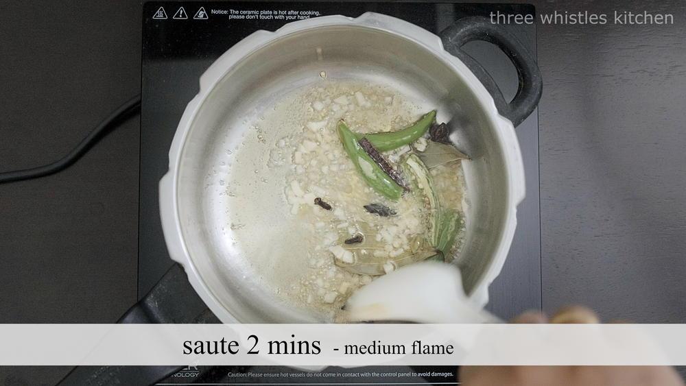 ghee rice saute