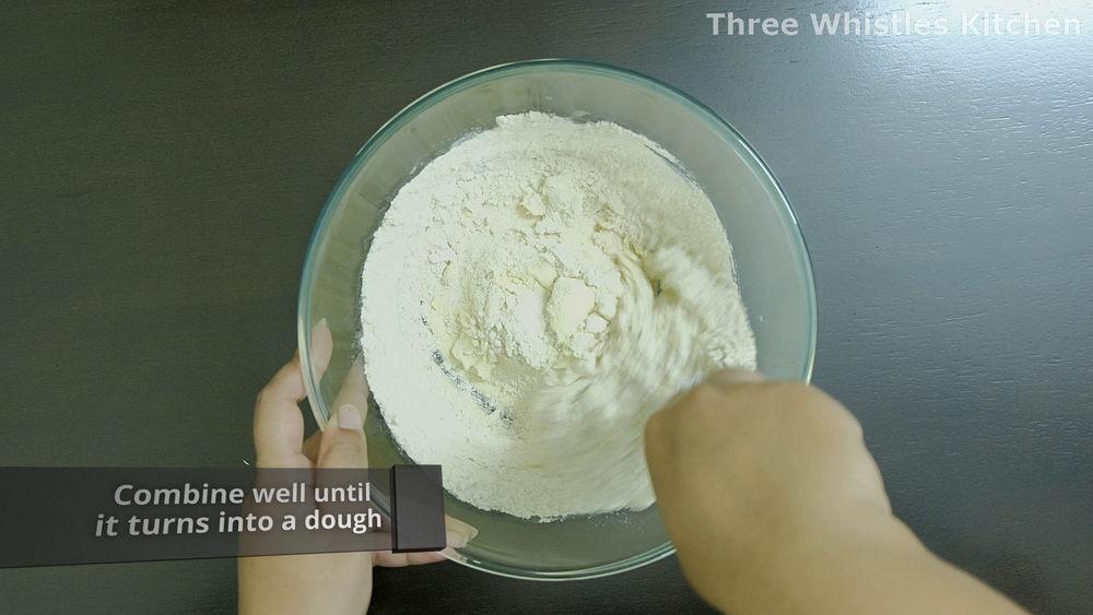 mix wheat flour