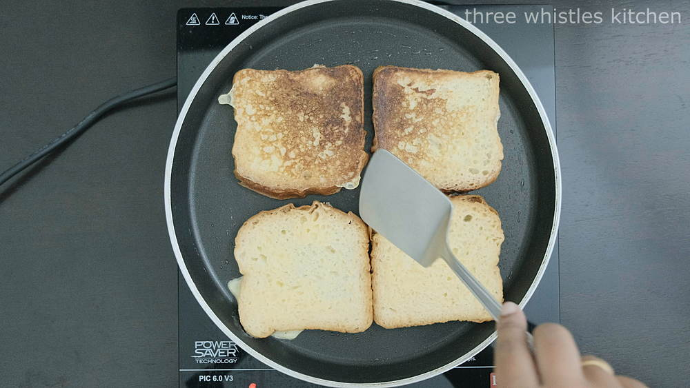 toast on both sides