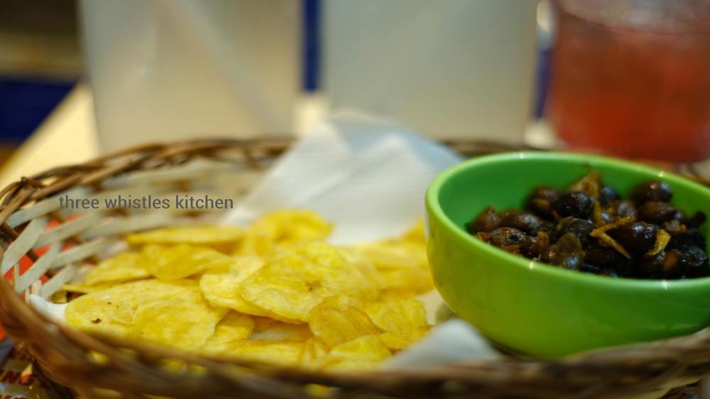 banana chips and sundal kerala style