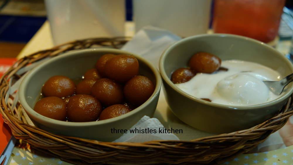 desserts at barbeque nation