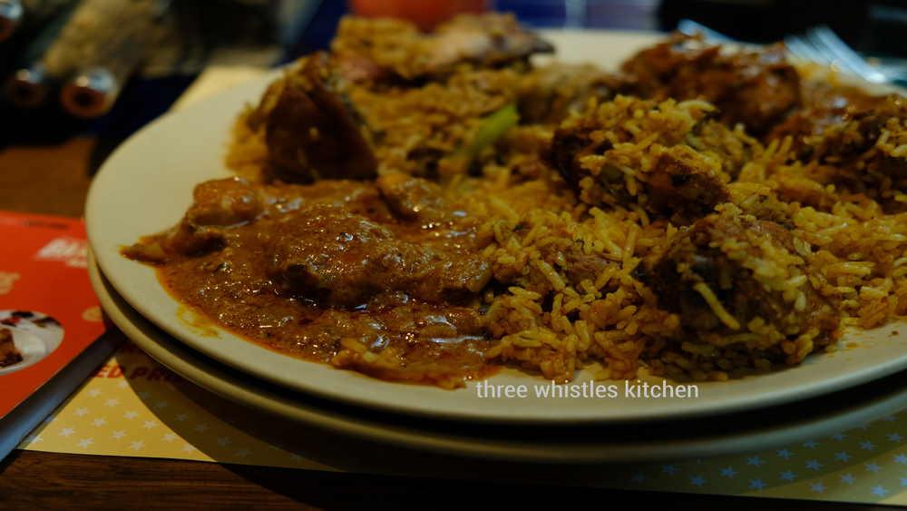 main course briyani