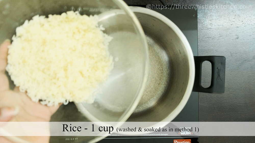 add rice to cooker