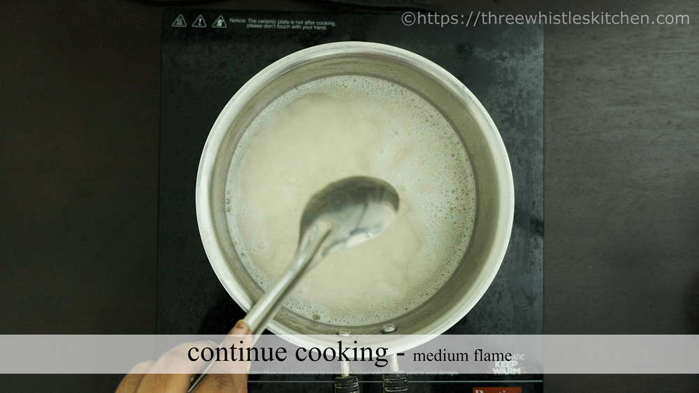 continue cooking