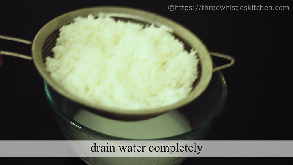drain completely