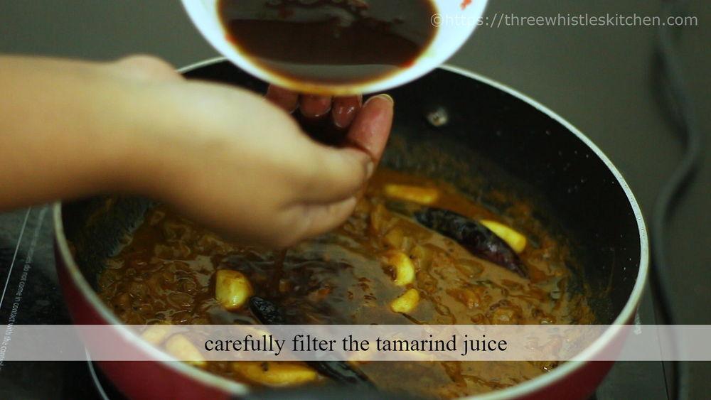 filter tamarind water
