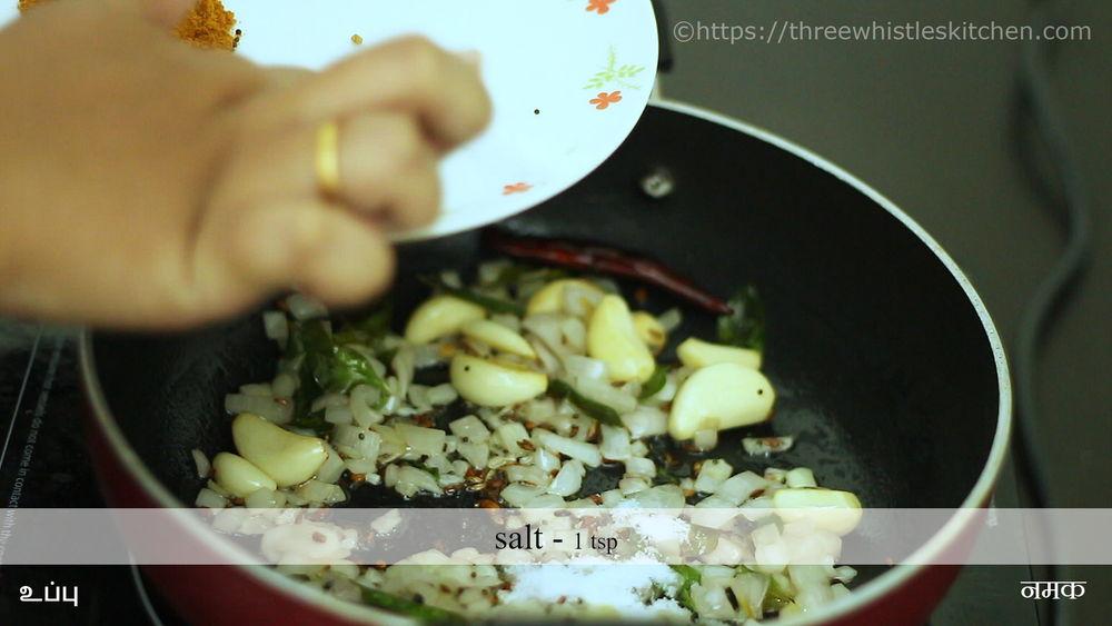 garlic curry salt