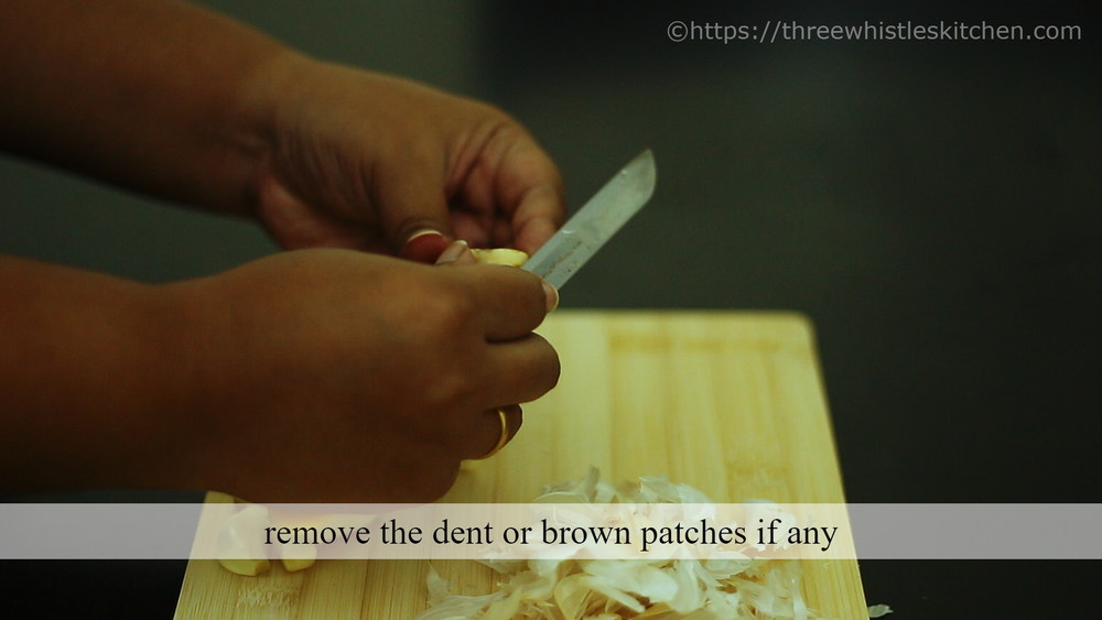 remove brown patches