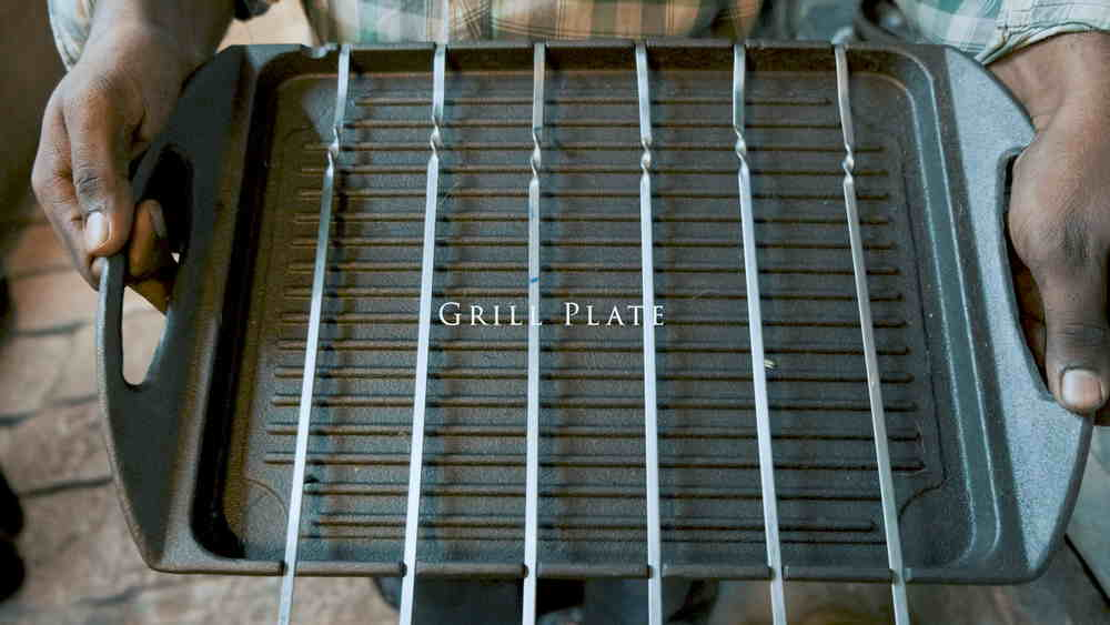 Iron Cookware Grill Plate