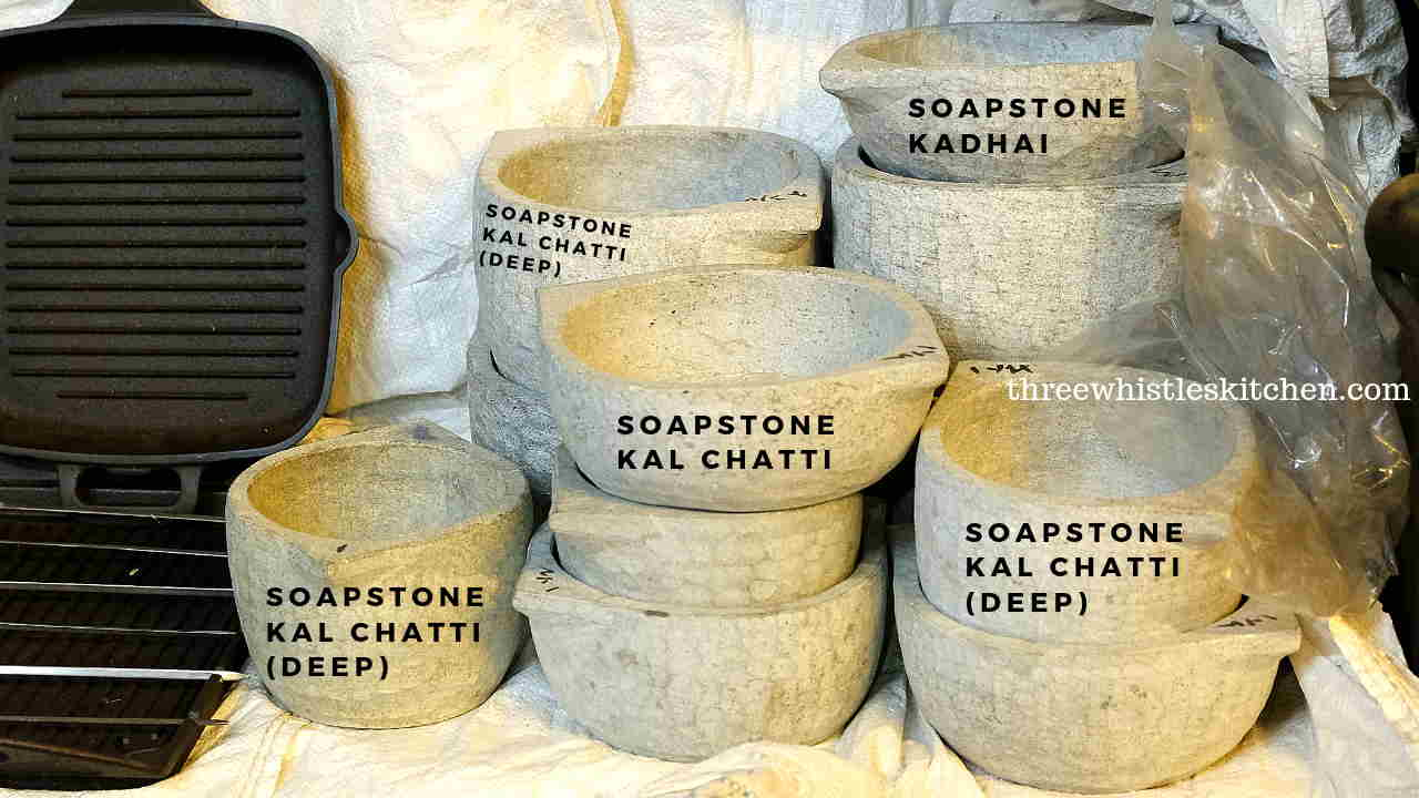 soapstone cookware different types
