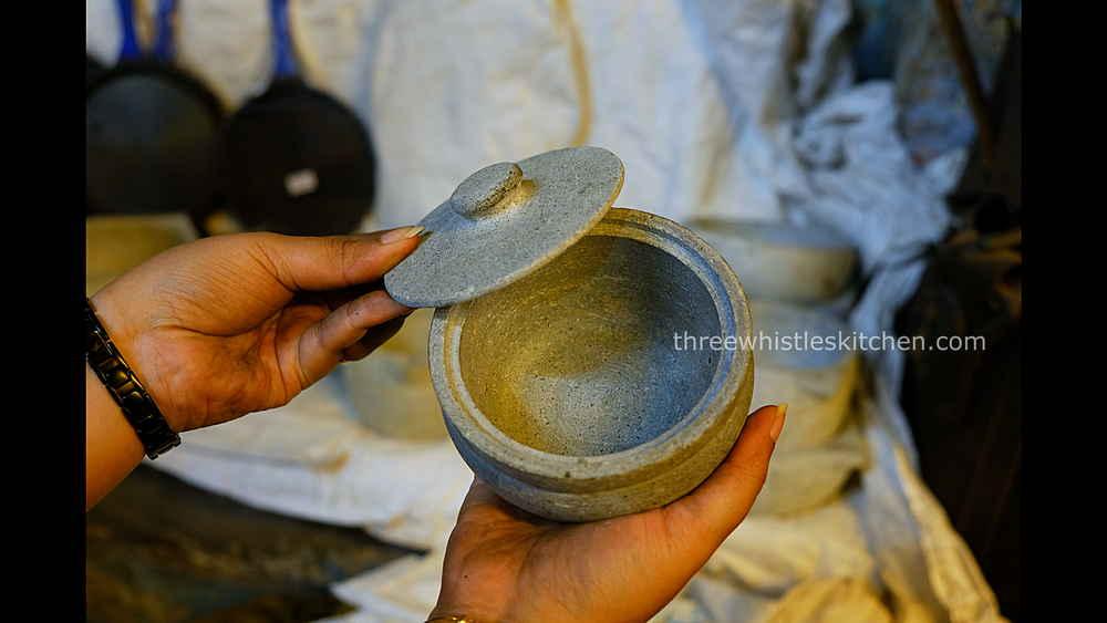 soapstone jar curd pot