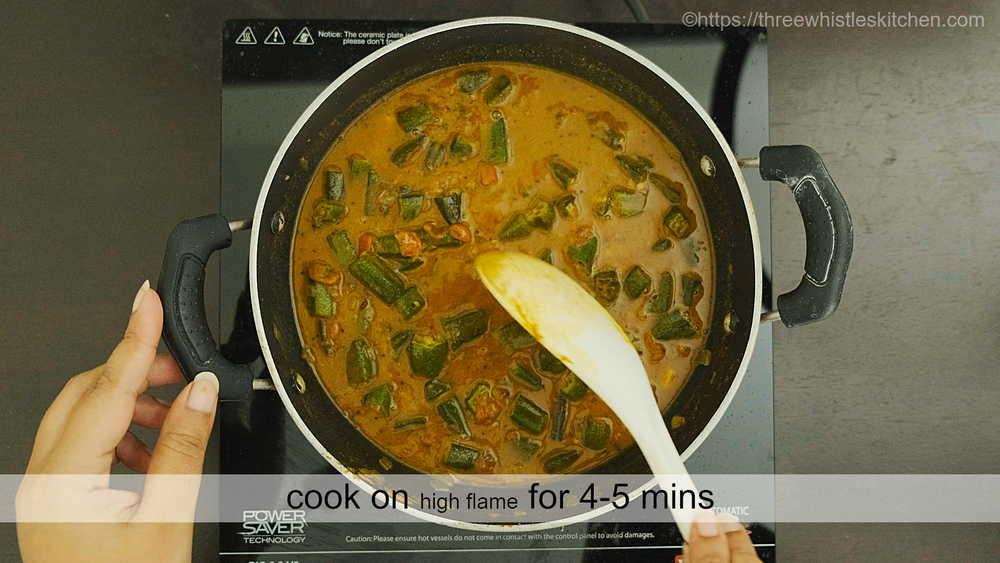 vendakkai kara kulambu cook
