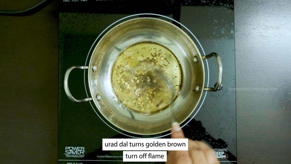 turns golden brown