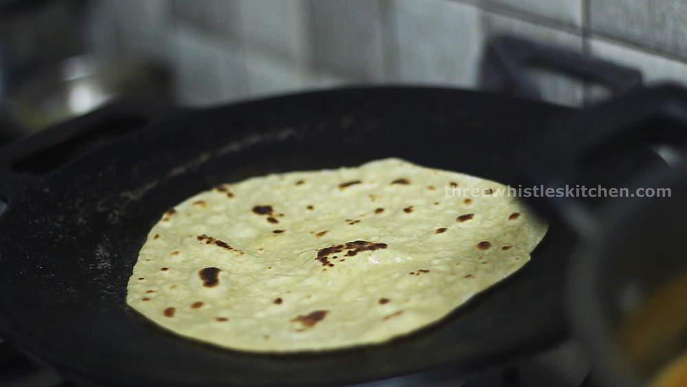 chapathi with plain salna