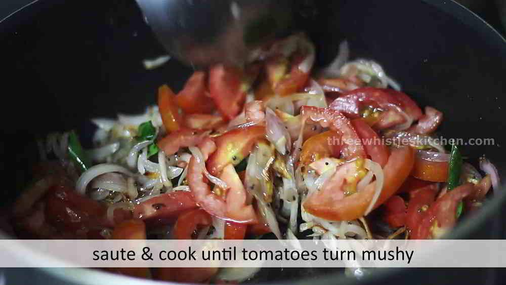 plain salna add tomatoes