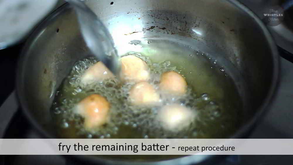 fry idly batter thean mittai