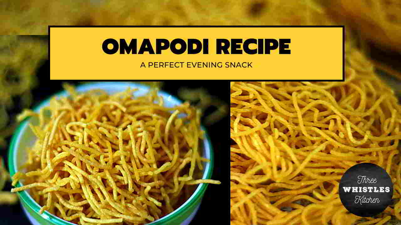 Omapodi recipe featured