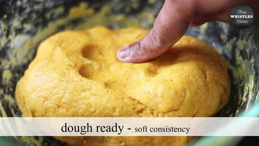 soft consistency dough for mixture